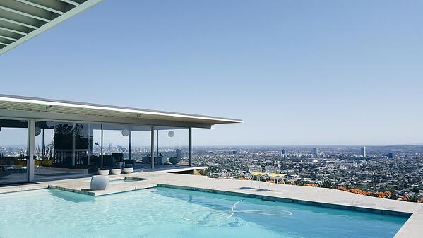 360 degree views of the city from the pool deck