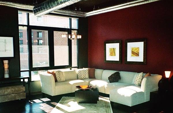 Judith Wilson Interior Design Living room color