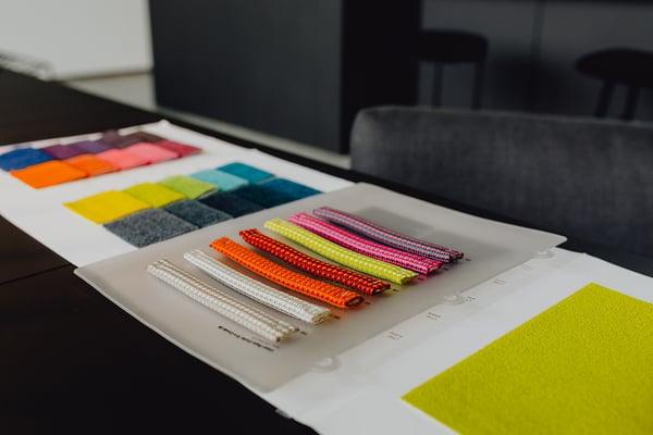 Modern interior of designer workplace